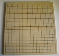 Доска Го с бамбуковым покрытием